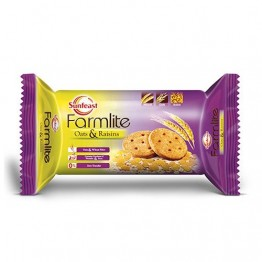 Sunfeast Farmlite - Oats & Raisins Healthy & Digestive Biscuits.